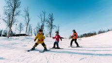 Vid vilken ålder ska barn börja åka skidor alpint med stavar?
