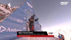 Max Palm - lekande lätt föråkare på Freeride World tour