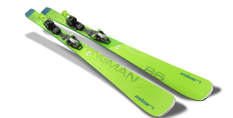 Elans all mountain skida Wingman 86 CTi inklusive bindningen FusionX.