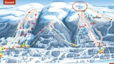 Stora räddningspådrag efter 2 laviner nära Åre