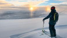 Bitande och bra topptur i Kittelfjäll