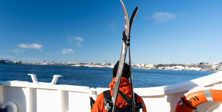 Ski & Sail i Mälarens drottning, vår kungliga hufvudstad Stockholm.