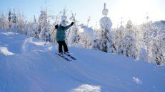 Branäs: oväntat bra skidåkning