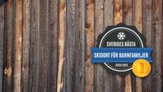 Detta är Sveriges bästa skidort för barnfamiljer 2021