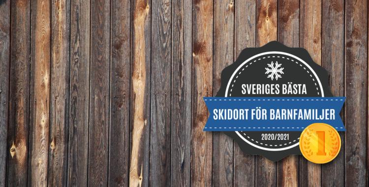 Sveriges bästa skidort för barnfamiljer 2021 är framröstad.