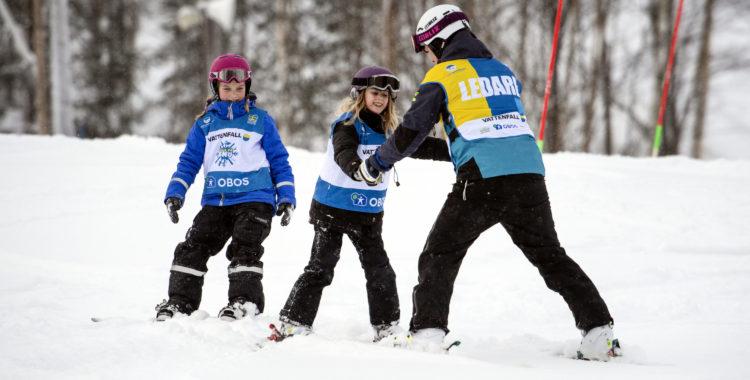 Svenska skidförbundet får ekonomiskt bidrag på 15 miljoner att bla lägga på sitt projekt