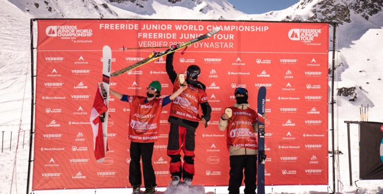 Max Palm vinner VM-guld i Verbier.