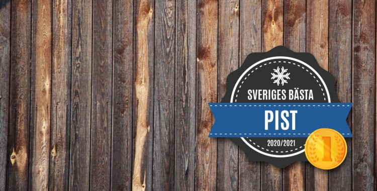 Sveriges bästa pist 2020/2021.