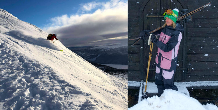 Oskar vann Rossignolskidor, Anna-Karin kammade hem Peak Performance-skidställ.