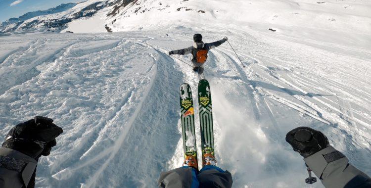 I videoserien får du en glimt av Kristofer Turdells vinter fram till finalen i Verbier.