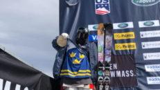 Henrik Harlaut trea på världscupen i Aspen