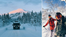 Roadtrip till Kittelfjäll: snorkallt, djupt puder och älgvarning