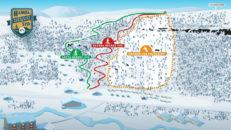 Hamra Syd: nytt skidområde i Tänndalen – helt utan liftar och nedfarter