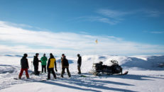 Fyra toppar på en eftermiddag – Skotertolkning i Ramundberget