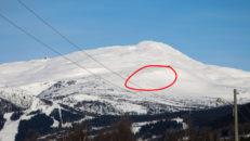 Stor lavin på Lillskutan i Åre – en person uppgrävd och förd till sjukhus