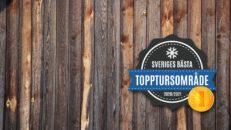 Detta är Sveriges bästa topptursområde 2021