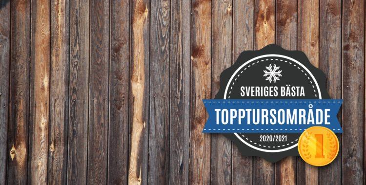 Sveriges bästa topptursområde 2021.
