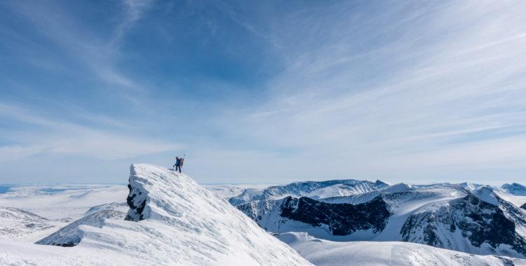 Stora Sarektraversen - det största alpina äventyret innanför Sveriges gränser.
