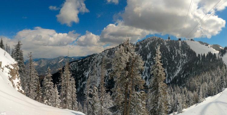 Skidorten Poiana Brasovas berg Postavaru ståtar 1 799 meter över havet.
