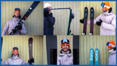 All Mountain 2022: test av 6 nya skidor för hela berget