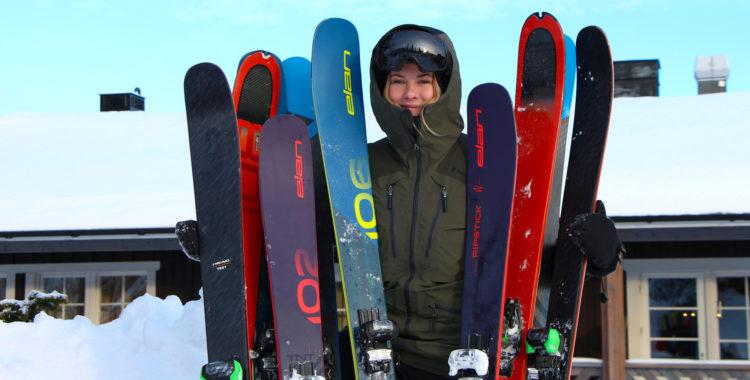 Det finns många begrepp när det kommer till skidor.