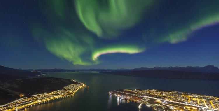 Narvikfjellet med sitt norrsken, polarnatt och fjordutsikt ska äntligen få boende med ski in/ski out!