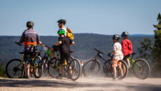 Kungsberget har öppnat för cykling