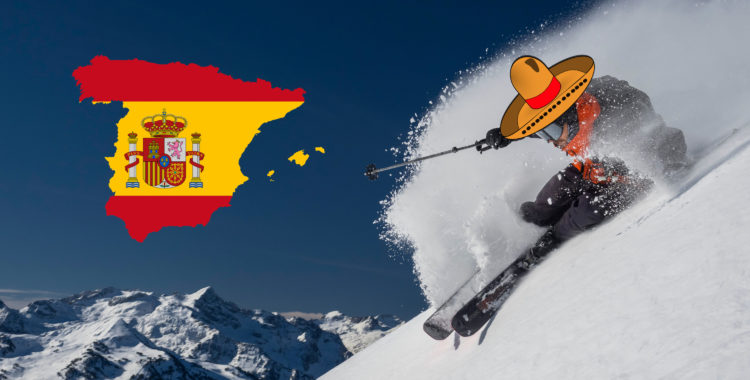 Freeride World Tour åker till Spanien.