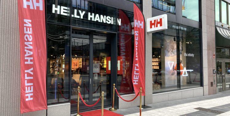 Helly Hansen ny butik i huvudstaden.