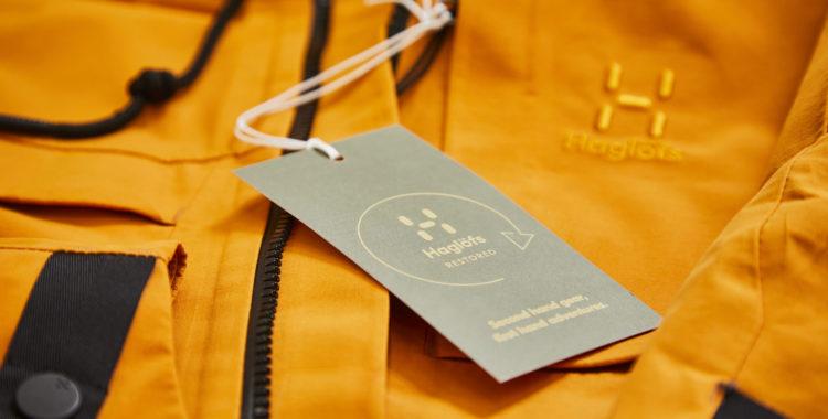 Haglös börjar laga och sälja begagnade kläder.