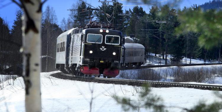SJ satsar på tågen till och från Jämtland, vinter såväl som sommar.