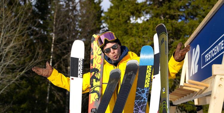 Hur välja rätt typ av skidor?