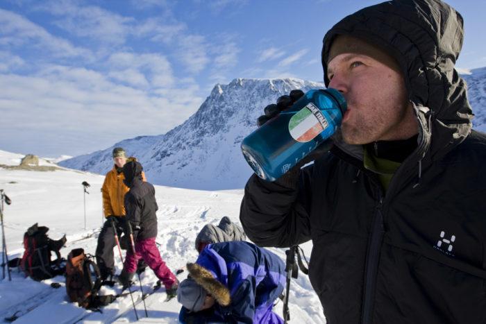 Rikard Andreasson vet vikten av att hydrera på hög höjd