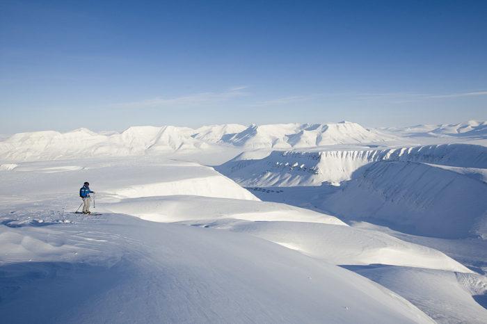 Svalbard. Lika vackert som farligt utan ett gevär