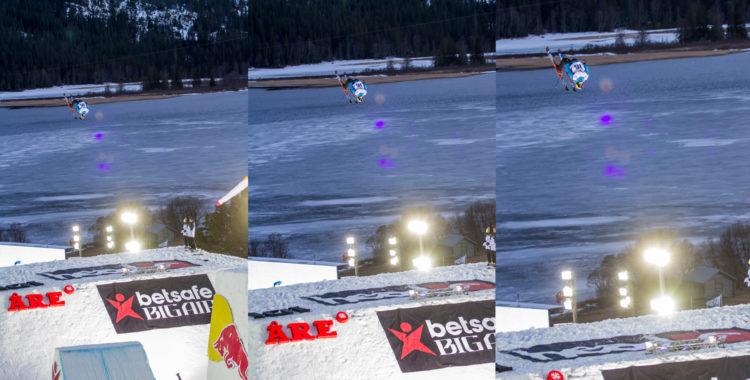Man kan nog ledigt säga att Jesper Tjäder stal showen i Åre