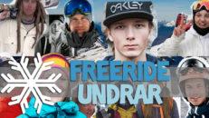 Freeride Undrar: Årets bästa åkare