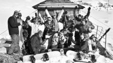 Bildfest: Riksgränsen Banked Slalom är ingen tävling
