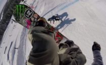 Galenskap på snowboard med Helgasons