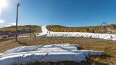 Lagrad snö säkerställer tidig öppning i Geilo