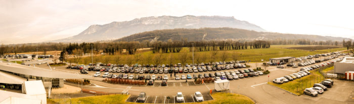 Aéroport de Chambéry stoltserar med 300 platser med gratis parkering