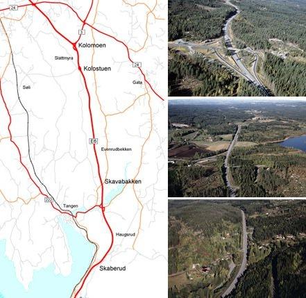 Nya sträckningen av E6an förkortar restiden en timme från Göteborg