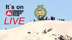 Live: Freeride World Tour Vallnord-Arcalís, Andorra