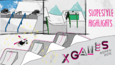 LIVE X Games Snowboard Slopestyle kval