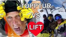 10 skäl varför lift är bättre än topptur