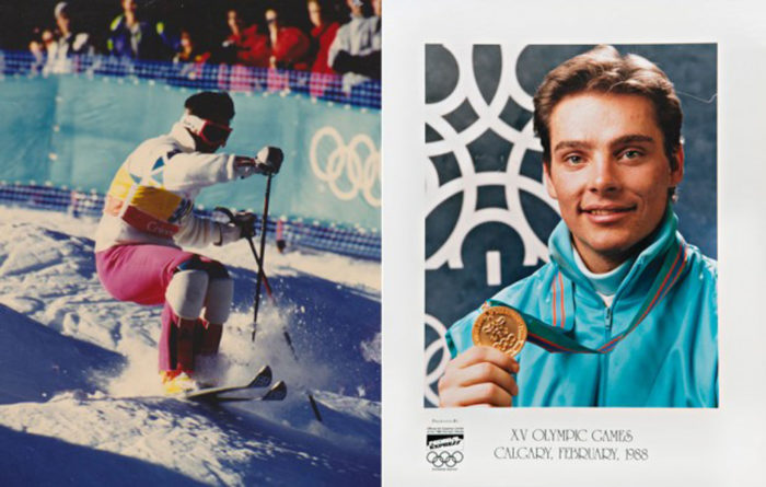 OS-montage från Calgary 1988