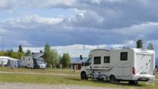 Ny camping med ski in-ski out i Idre