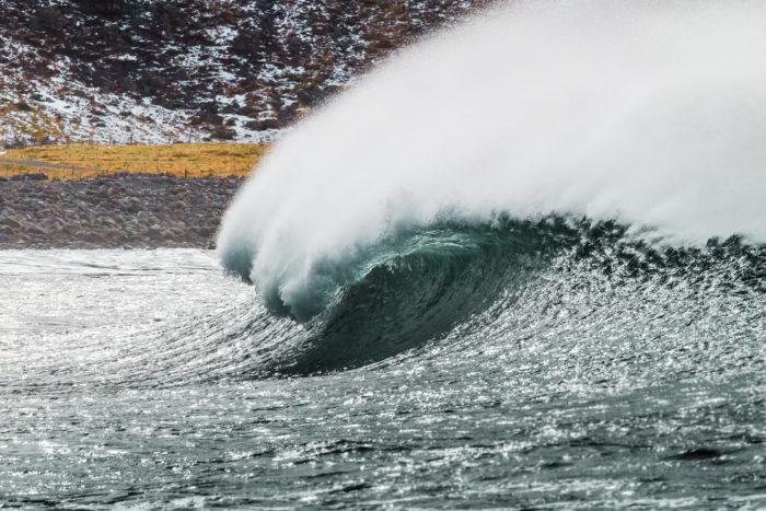 Fina vågor