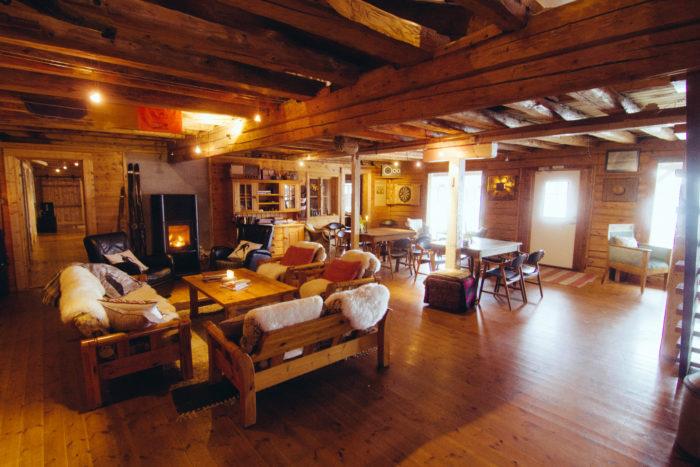 Inifrån Lodgen