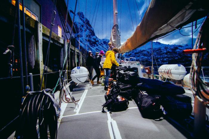 Båt i Lofoten