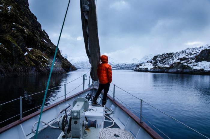 På båt i Norge